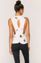 Load image into Gallery viewer, SPIRITUAL GANGSTER STAR SURPLICE BACK SWING TANK