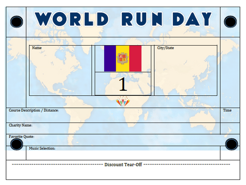 World Run Day BIB - ARMENIA