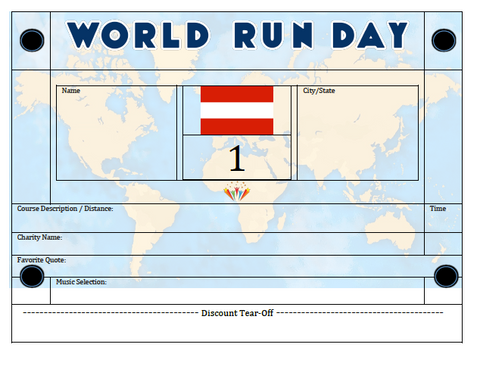 World Run Day BIB - AUSTRIA