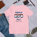 Luxembourg COLOR ME Short-Sleeve Unisex T-Shirt