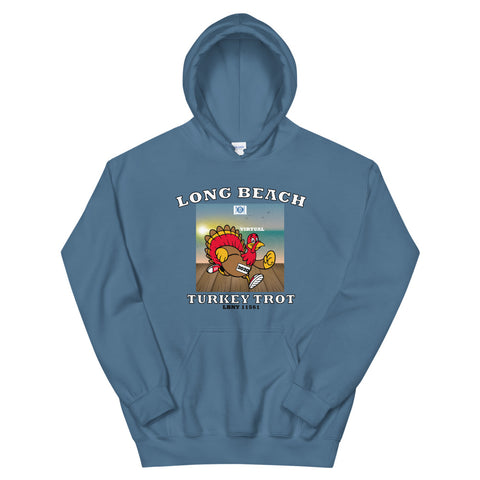 Long Beach Virtual Turkey Trot Unisex Hoodie