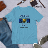 Barbados COLOR ME Short-Sleeve Unisex T-Shirt