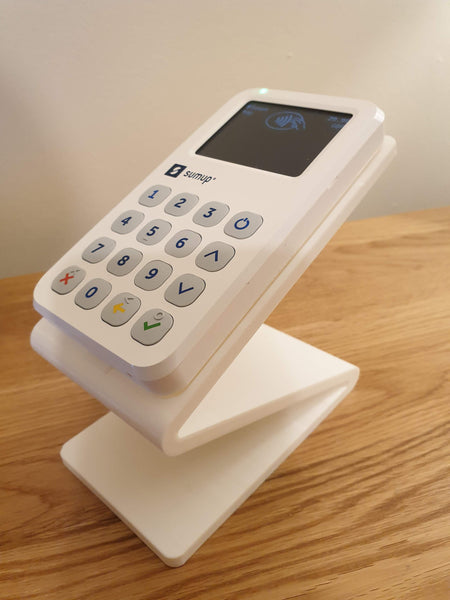 Stand for SumUp 3G Card Reader - Z shaped - FREE UK DELIVERY
