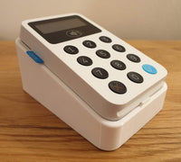Dock for iZettle v1 card reader with securing clip - FREE UK Delivery