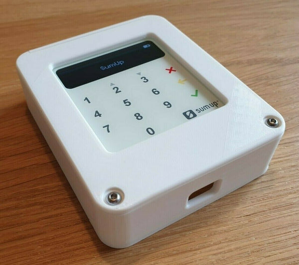 Wall box secure enclosure mount for Sumup Air card reader