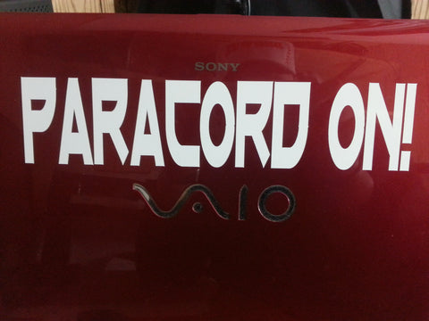 Paracord On Decal 1