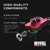 Nebo MyPal Rechargeable Keychain Light & Alarm