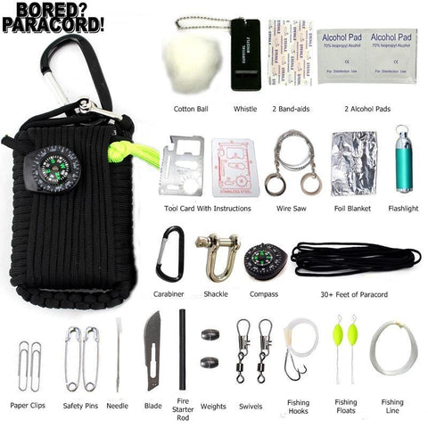 Paracord Survival Tool Kit