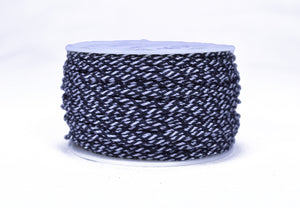 Black and White Camo Micro Cord