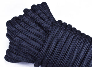 "Black - 1/4"" PolyPro Rope"