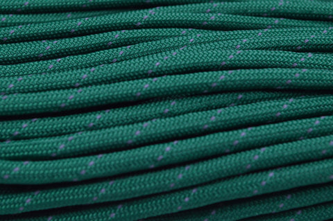 reflective tracer kelly green paracord 550 cord   reflective   boredparacord    rh   boredparacord