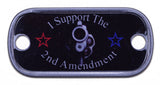 I Support The 2nd Amendment Dog Tag