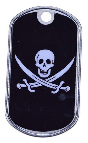 Jolly Roger Dog Tag