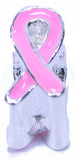 Breast Cancer Awareness Ribbon Bead