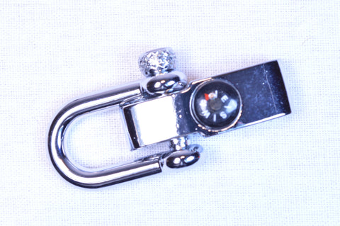 Adjustable Stainless Compass Shackle