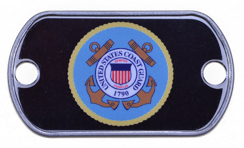 Coast Guard Dog Tag