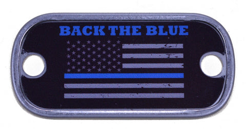 Back The Blue Dog Tag