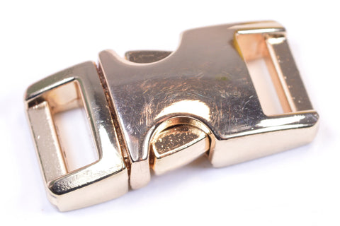 "1/2"" Gold Metal Buckle"