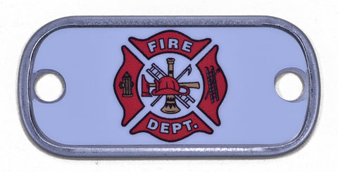 Fire Fighter Dog Tag
