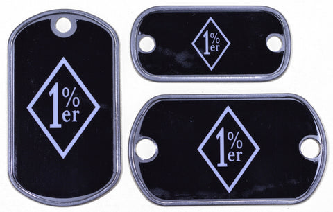 1 Percenter Dog Tag