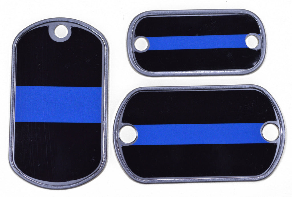 Thin Blue Line Dog Tag  d6f591615ee