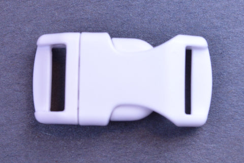 "1/2"" White Buckles"