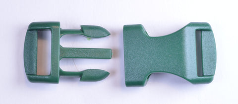 "1/2"" Hunter Green Buckles"