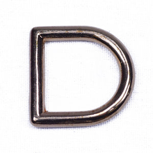 "Gold - Solid 1"" D Ring"