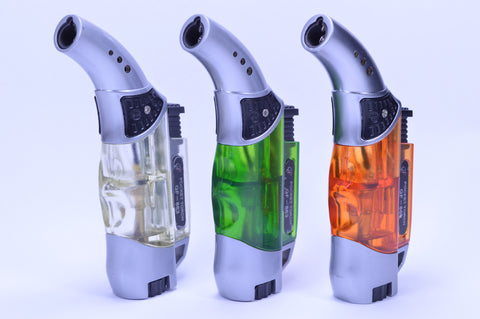 Curved Neck Torch Lighter