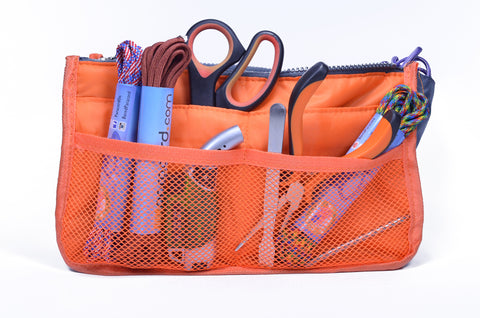 Gray and Orange Tool Pouch