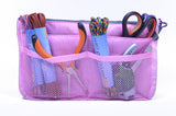 Gray and Pink Tool Pouch