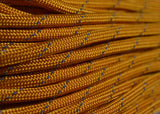 Reflective Tracer Goldenrod Paracord - 50 Feet