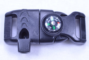 "1/2"" Fire Starter & Compass Buckle"