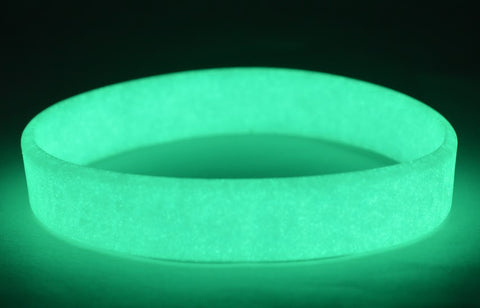 Glow-in-the-Dark Silicone Bracelet