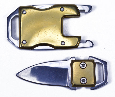 Gold Knife Buckle