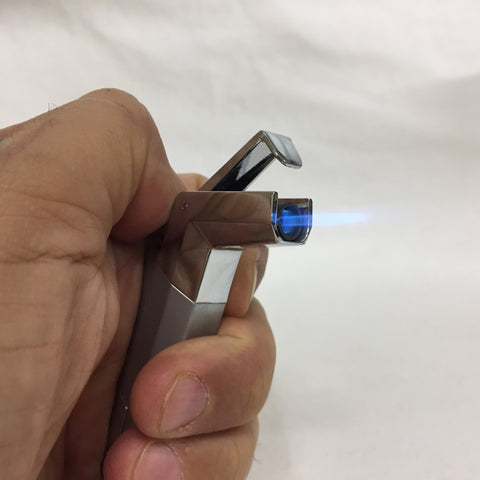 Futuristic Single Flame Torch Lighter