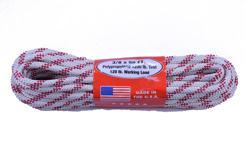 "3/8"" Utility Rope - 50 Feet - Life Guard"