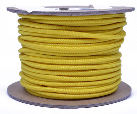"1/8"" Shock Cord - Mustard Yellow"