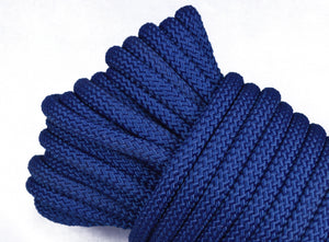 "Navy Blue - 1/4"" PolyPro Rope"