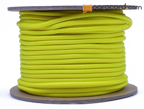 "1/8"" Shock Cord - Neon Yellow"