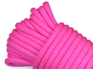 "Neon Pink - 1/4"" PolyPro Rope"