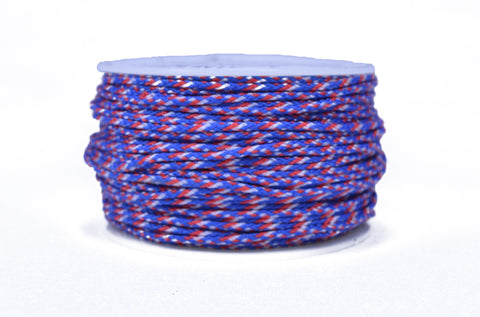 Red White and Blue Camo Micro Cord