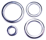 Solid Stainless Steel Metal O-Ring