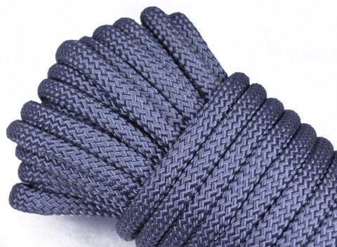 "Silver - 1/4"" PolyPro Rope"