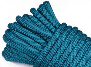 "Teal - 1/4"" PolyPro Rope"