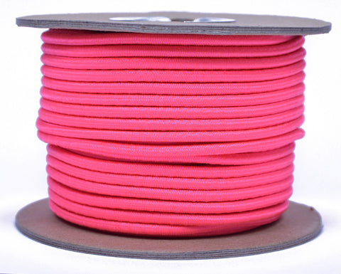 "1/8"" Shock Cord - Think Pink"