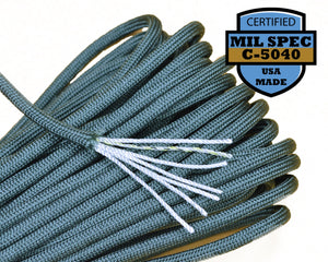 Mil-Spec Sage Green Paracord - 100 Feet