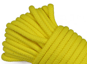 "Yellow - 1/4"" PolyPro Rope"