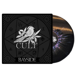 Cult Black W/ Pink Splatter LP