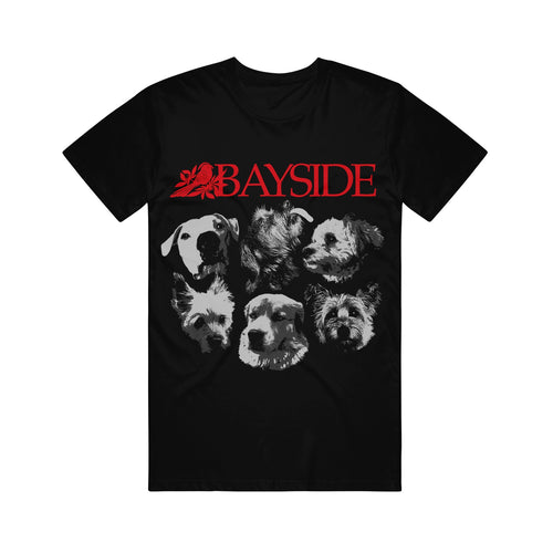 Dog Black T-Shirt